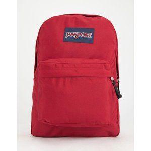 Jansport superbreak backpack NEW red full size